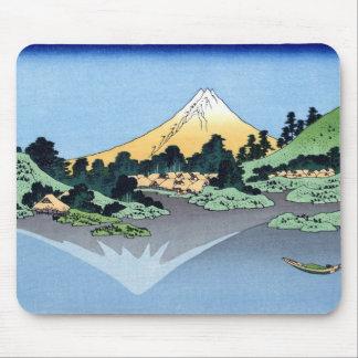 甲州三坂水面, 北斎 View Mt.Fuji from Misaka, Hokusai Mouse Pad