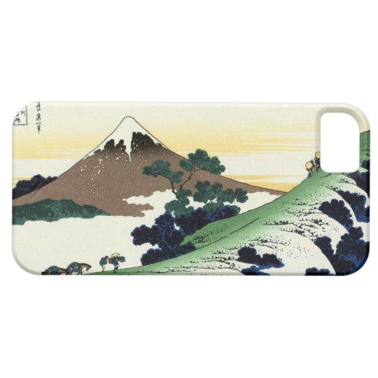 甲州犬目峠, 北斎 View Mt.Fuji from Inume, Hokusai iPhone SE/5/5s Case