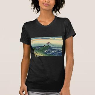 甲州石班沢, opinión el monte Fuji del 北斎 de Kajikazawa, Camiseta