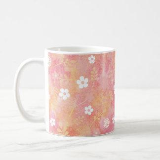 癒 palm and peduncle pattern of love coffee mug