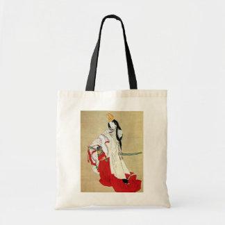 白拍子, 北斎 Shirabyōshi Dancer, Hokusai, Ukiyo-e Tote Bag