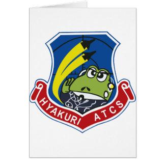 百里基地航空交通管制隊ワッペン TARJETA