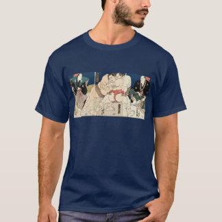 相撲, 国貞 Smou wrestling, Kunisada T-Shirt