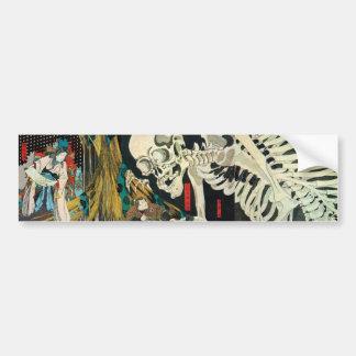 相馬の古内裏, 国芳 Skeleton Manipulated by Witch, Kuniyosh Bumper Sticker