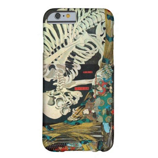 相馬の古内裏,国芳 Skeleton manipulated by Witch, Kuniyoshi iPhone 6 Case