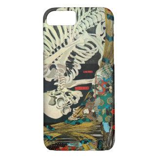 相馬の古内裏,国芳 Skeleton manipulated by Witch, Kuniyoshi iPhone 7 Case