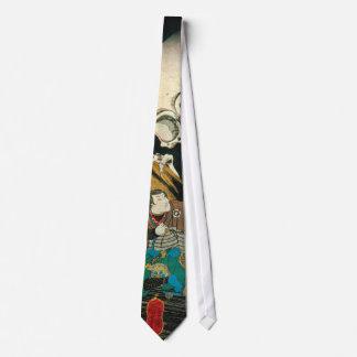 相馬の古内裏, esqueleto del 国芳 manipulado por la bruja,  corbata personalizada