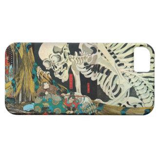 相馬の古内裏, esqueleto del 国芳 manipulado por la bruja, funda para iPhone 5 barely there