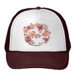 着物風梅の花 ハット