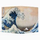 神奈川沖浪裏, 北斎 Great Wave, Hokusai Binder