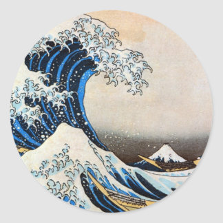 神奈川沖浪裏,北斎 Great Wave, Hokusai Stickers