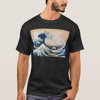 神奈川沖浪裏,北斎 Great Wave, Hokusai T-Shirt