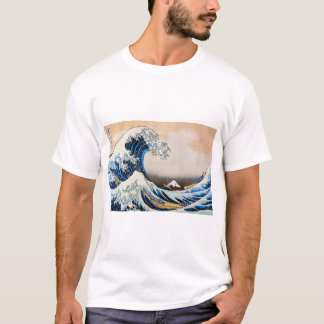 神奈川沖浪裏, 北斎 Great Wave, Hokusai T-Shirt