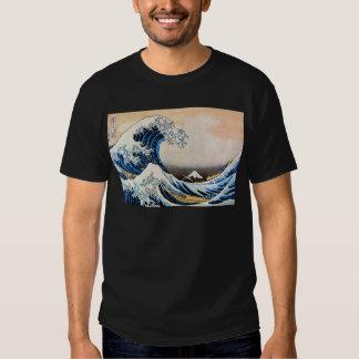神奈川沖浪裏,北斎 Great Wave, Hokusai Tshirt