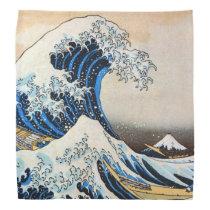 神奈川沖浪裏, 北斎 Great Wave, Hokusai, Ukiyo-e Bandana