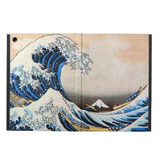 神奈川沖浪裏, 北斎 Great Wave, Hokusai, Ukiyo-e iPad Air Cases