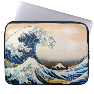 神奈川沖浪裏 北斎 Great Wave Hokusai Ukiyo-e Laptop Computer Sleeves
