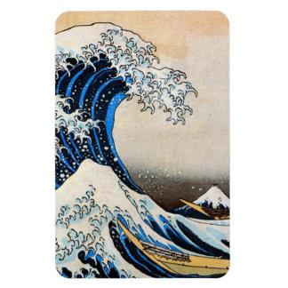 神奈川沖浪裏, 北斎 Great Wave, Hokusai, Ukiyo-e Magnet