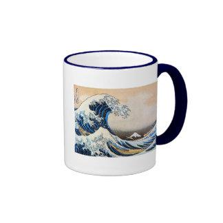 神奈川沖浪裏, gran onda del 北斎, Hokusai Taza