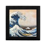 神奈川沖浪裏, gran onda del 北斎, Hokusai, Ukiyo-e Cajas De Recuerdo