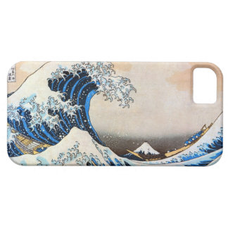 神奈川沖浪裏, gran onda del 北斎, Hokusai, Ukiyo-e iPhone 5 Case-Mate Fundas