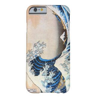 神奈川沖浪裏, gran onda del 北斎, Hokusai, Ukiyo-e Funda De iPhone 6 Barely There