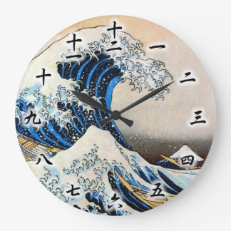 神奈川沖浪裏, gran onda del 北斎, Hokusai, Ukiyo-e Reloj