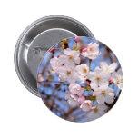 神戸にある桜開花の作品 ピンバッジ