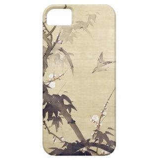 竹に鳥, 其一 Bird and Bamboo, Kiitsu, Japan Art iPhone 5 Case