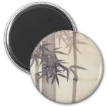 竹, 其一 Bamboo, Kiitsu, Japan Art 2 Inch Round Magnet