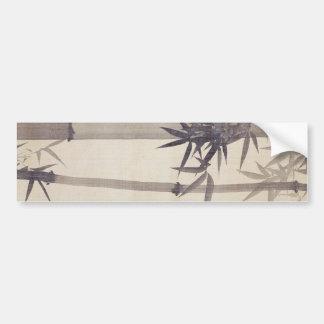 竹, 其一 Bamboo, Kiitsu, Japan Art Bumper Stickers
