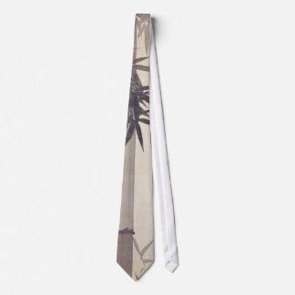 竹, 其一 Bamboo, Kiitsu, Japan Art Neck Tie