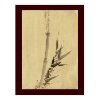 竹 Bamboo 葛飾北斎 Katsushika Hokusai Postcard