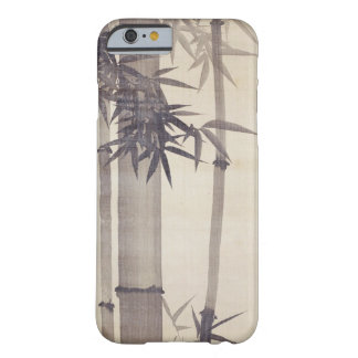 竹, bambú del 其一, Kiitsu, arte de Japón Funda De iPhone 6 Barely There