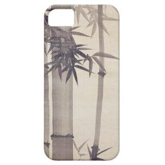 竹, bambú del 其一, Kiitsu, arte de Japón iPhone 5 Cárcasas