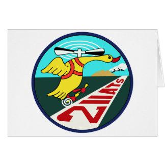 第211教育航空隊パッチ GREETING CARD