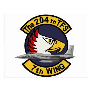 第204飛行隊 戦競塗装2010 POSTCARD