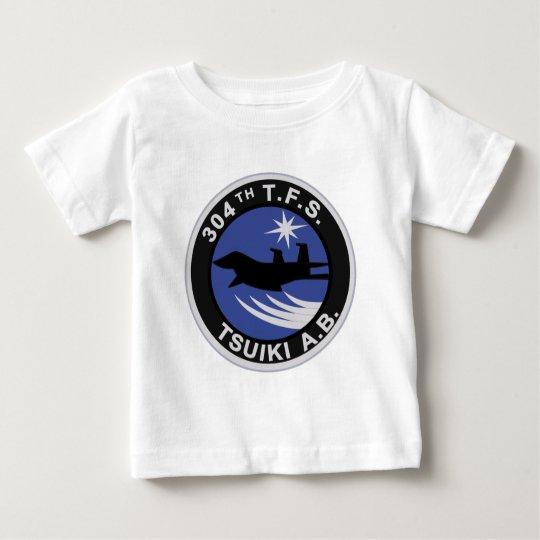 第304飛行隊 TSUIKI A.bパッチ Baby T-Shirt