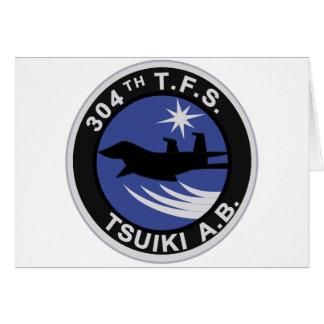 第304飛行隊 TSUIKI A.bパッチ Card