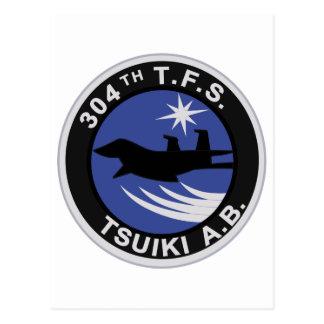 第304飛行隊 TSUIKI A.bパッチ Postcard