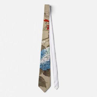 紫陽花, 抱一 Hydrangea, Hōitsu Neck Tie