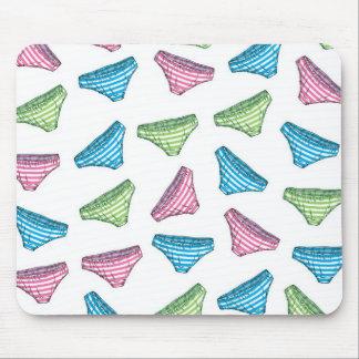 縞パンツマウスパッド striped pattern panties mouse pad) マウスパッド