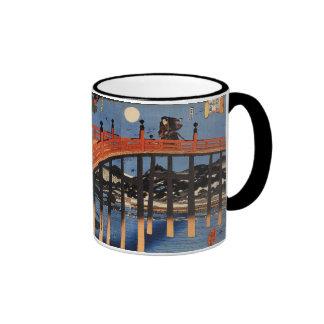 義経と弁慶, 国芳, Yoshitsune & Benkei, Kuniyoshi, Ukiyo-e Coffee Mugs