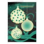 聖誕節同新年快樂 - tarjeta de Navidad china de las Felices