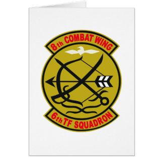 航空総隊西部航空方面隊第8航空団第6飛行隊 GREETING CARD