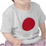 航空自衛隊の国籍マーク Nippon Roundel Flag of JASDF Shirt