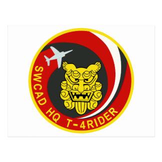 航空自衛隊 南西航空団司令部飛行隊 T-4 ライダ-パッチ POSTCARD