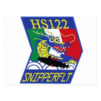 航空隊パッチ del 海上自衛隊第 122 postal