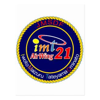 航空隊パッチ del 海上自衛隊第 21 postales
