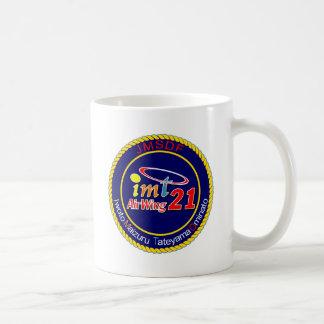 航空隊パッチ del 海上自衛隊第 21 taza de café